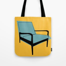 Mid Century Chair Tote Bag