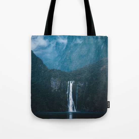 Majestic Milford Sound Tote Bag