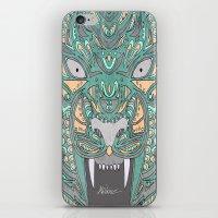 teeth iPhone & iPod Skins featuring Teeth by Alexandria Robinson