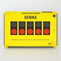 senna iPad Cases featuring No075 My senna minimal movie poster by Chungkong