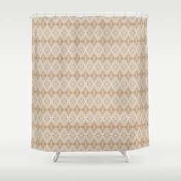 SAHARA GEO GOLD Shower Curtain