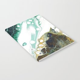 Teal Abstract Notebook