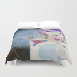 Pain and Love Duvet Cover