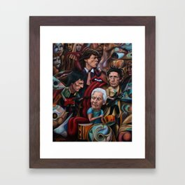 The Stones Are Rolling Framed Art Print
