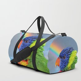 Rainbow Lorikeet Duffle Bag