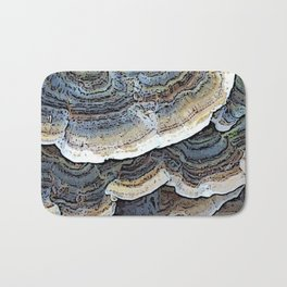 Turkey Tail Fungi Bath Mat