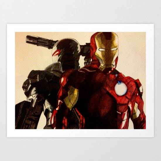 Iron Man 3 Art Print