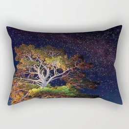 Stars and A Tree Rectangular Pillow