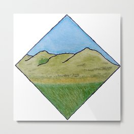Hills of Scotland Metal Print