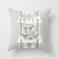 DYNAMITE MONEY Throw Pillow
