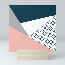 Colorful geometry 16 Mini Art Print