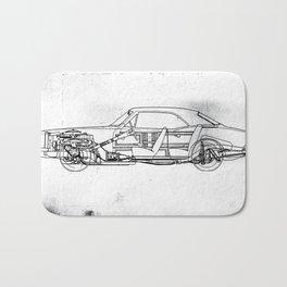 Muscle Car Bath Mat