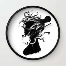 Squindy Silhouette Wall Clock