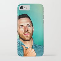 coldplay iPhone & iPod Cases featuring Blue Eyes by tillieke