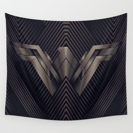 WonderWoman Logo Wall Tapestry