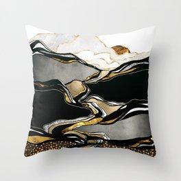 Metallic Vista Throw Pillow