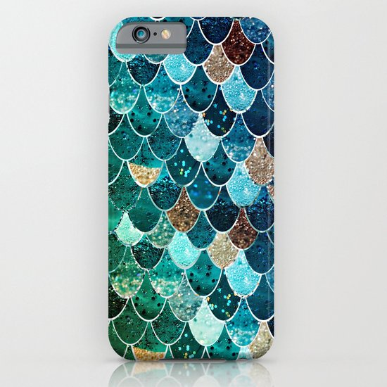 REALLY MERMAID TIFFANY iPhone & iPod Case