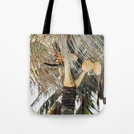 Yellow coconuts Tote Bag