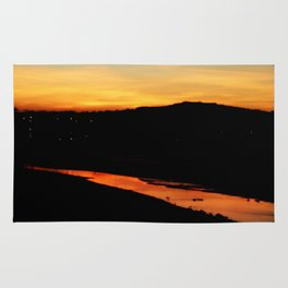Sunset in Hayle Rug