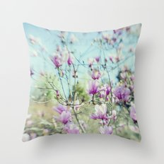 Wake Up Maggie Throw Pillow
