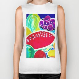 My Fruit Bounty             by Kay Lipton Biker Tank