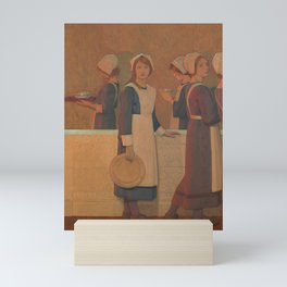 Frederick Cayley Robinson- Orphan (2nd in series) Mini Art Print