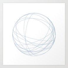 #491 Orbits – Geometry Daily Art Print