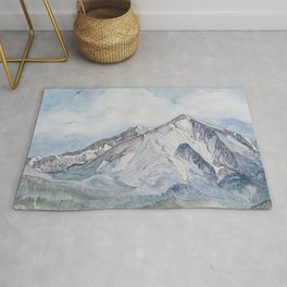Spring  on Mount Sopris Rug