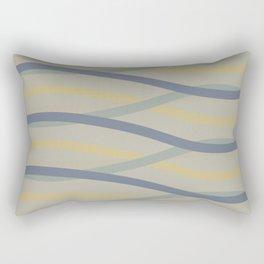 Abstract Waves 2 Rectangular Pillow