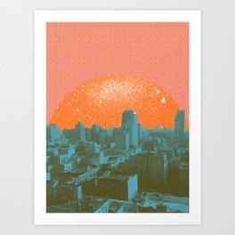 Metropolis Landing III Art Print