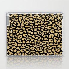 Classic Black Leopard Laptop & iPad Skin