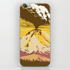 Vintage Lassen Volcanic National Park iPhone & iPod Skin