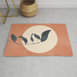 Summer Leaves Rug