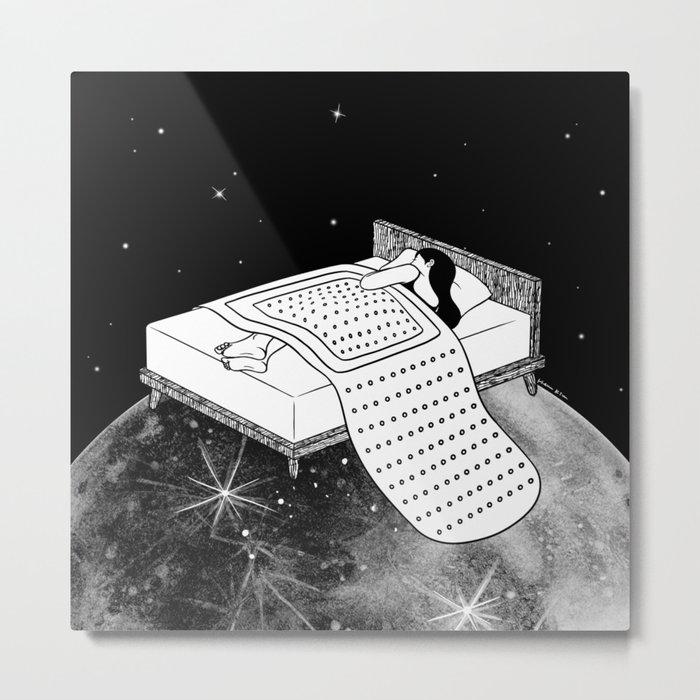 Healing Night Metal Print
