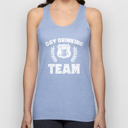 Day Drinking Team St Patricks Day Beer Irish Holiday Unisex Tank Top