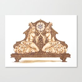 Rococo Canvas Print