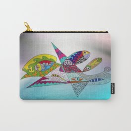 fantastic geometrical forms -3- Carry-All Pouch