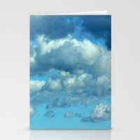 german Stationery Cards featuring German clouds by LoRo  Art & Pictures