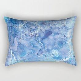 Ice Abstraction Rectangular Pillow