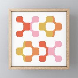 X and O Framed Mini Art Print