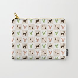 Rustic Animal Pattern Carry-All Pouch