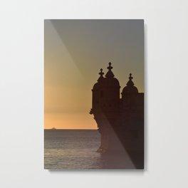 Belem Tower Metal Print