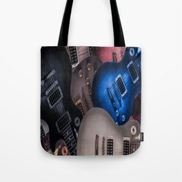 Nest of Guitars Tote Bag