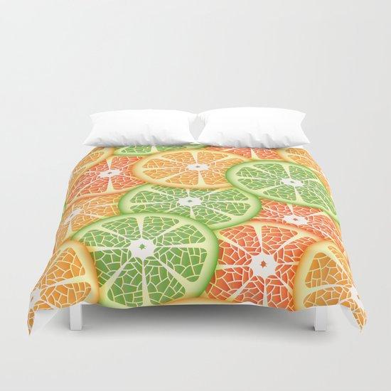 Citruses Duvet Cover