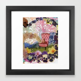"""Circular Time and Space Framed Art Print"