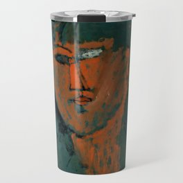 "Amedeo Modigliani ""Red Head (Tête rouge)"" Travel Mug"