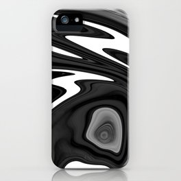 SIXTIES - BLACK iPhone Case