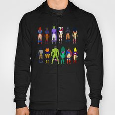 Superhero Power Couple Butts Hoody