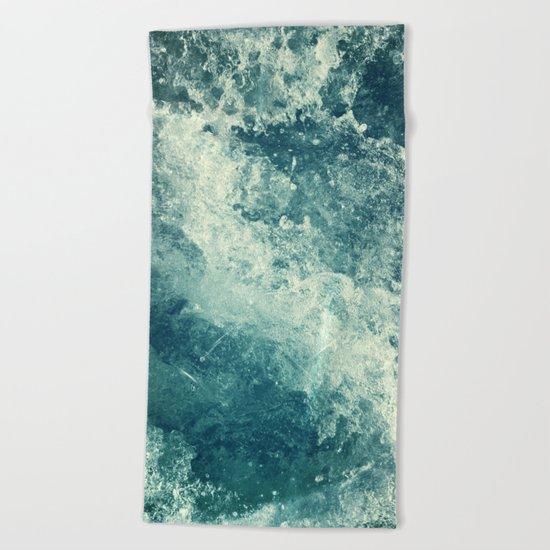 Water I Beach Towel