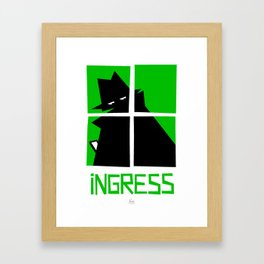 Ingress (Enlightenment) Framed Art Print